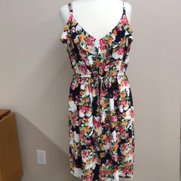 515b20a797b Torrid floral spaghetti strap dress 3. M 5b65c9a20945e0a930c38665